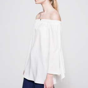 PORT TOP IN WHITE